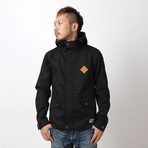 [앱놀머씽]STD HOODED JACKET (BLACK)