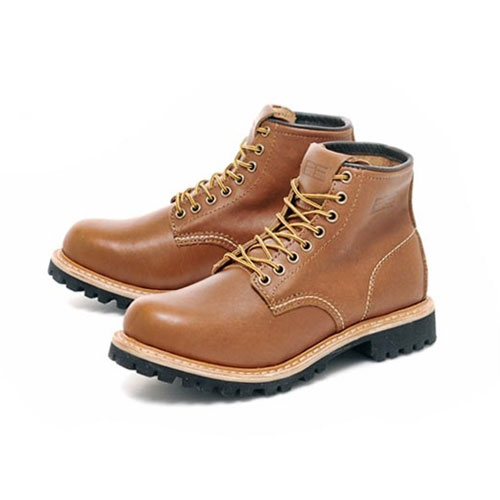 [PATH FINDER]2068A LEATHER BOOTS BROWN