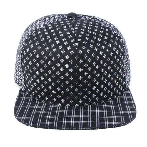 [페이퍼코드] CROSS COTTON SNAPBACK