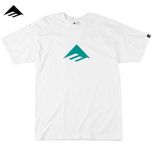 [이메리카] TRIANGLE 7.0 TEE S/S (White)