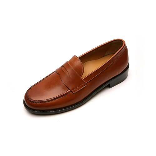 [클라토] Penny Loafer (1409-4)Brown Leather