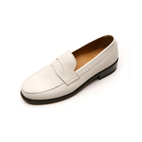 [클라토] Penny Loafer (1409-1)Ivory Leather