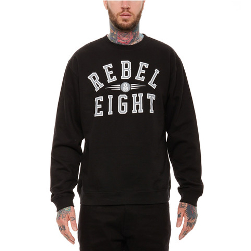 [레벨에잇] REIGNING CHAMPS CREWNECK BLACK