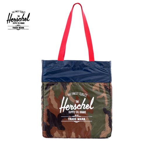 *교환&환불불가* [허쉘] PACKABLE TRAVEL TOTE (WOODLAND)