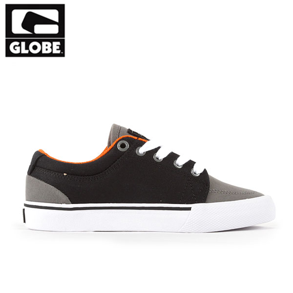 [GLOBE] GS KIDS (CHARCOAL/VINTAGE BLACK)